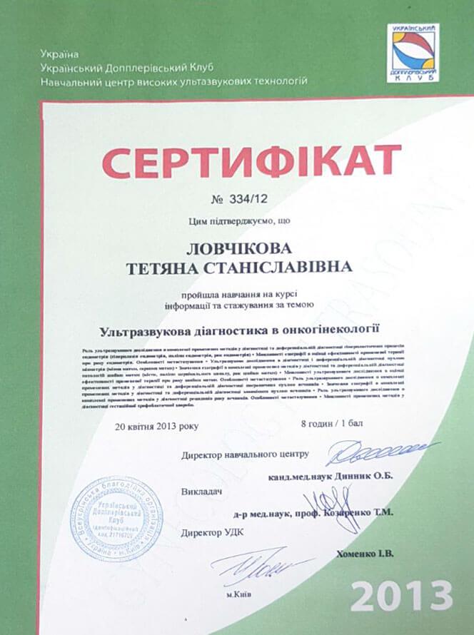 Сертификат №24