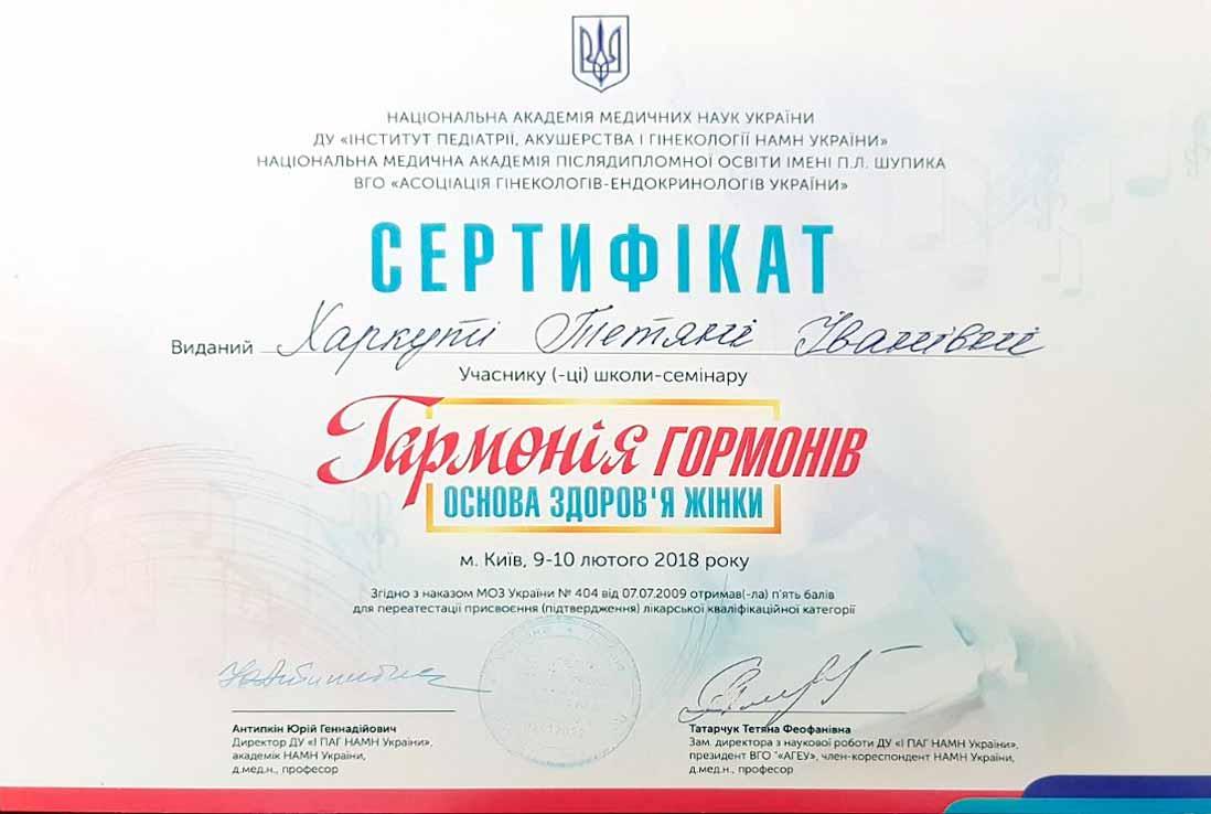 Сертификат №28